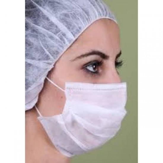 Akyel 3 Katlı Meltblownlu Telli Cerrahi Maske (50'lik)