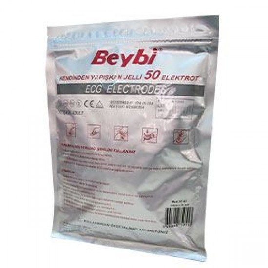 Beybi EKG Elektrodu (50'lik Paket)