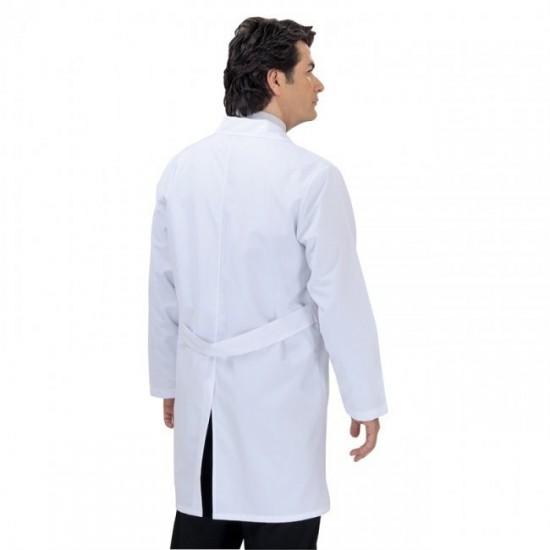 Erkek Doktor Önlüğü Klasik Yaka (Alpaka Kumaş)